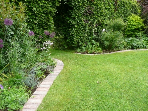 How to choose the right lawn edging
